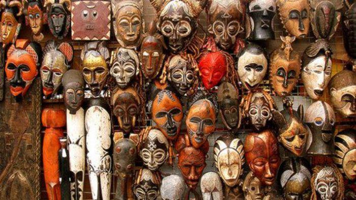 africa maschere