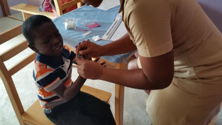 test malaria su paziente